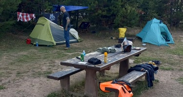 White River National Forest Peak One Campground
