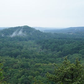From the State Parks' s main overlook