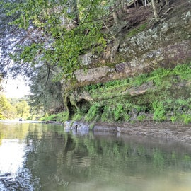This state park is a great place to lie your head if you're planning to do some Kickapoo River kayaking