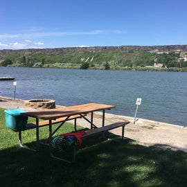 """Sites are close.  The campers in G kept leaving their stuff on our picnic table leading to a few awkward, """" what to do with these"""" moments."""