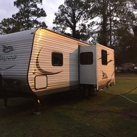 My first travel trailer.