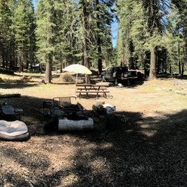 Campsite panorama, this campsite was massive