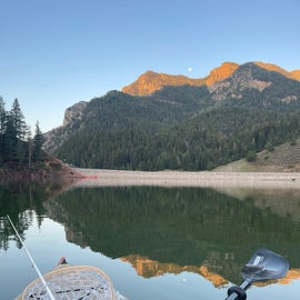 Tibble Fork Reservoirnis just up the road.  it is great for kayaking and paddle boarding  also trout fishing
