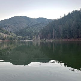 Tibble fork reservoir is just up the road