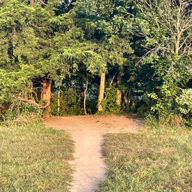 Easy access to the trail