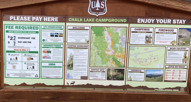 San Isabel National Forest Chalk Lake Campground
