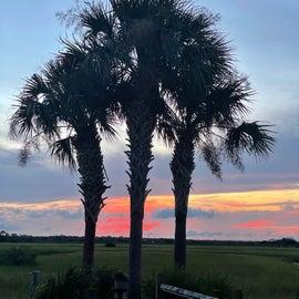 Intercoastal access sunset view