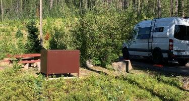 Flathead National Forest Devil Creek Campground