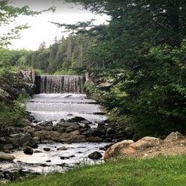 Mill Pond spillway