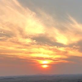 Sunset….