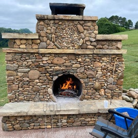 Typical fireplaces