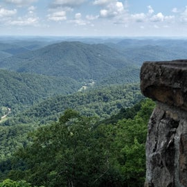 From one of the lookouts