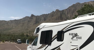 Pine Springs Campground - Guadalupe Mountains National Park