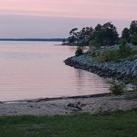 Shoreline at Lake Thurmond