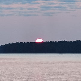 Sunset at Lake Thurmond