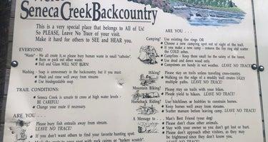 Gandy Creek Dispersed Camping Area