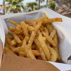 Fries at Café Del Sol