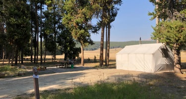 Bighorn National Forest Sitting Bull Campground