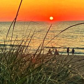 Sunset at Warren Dunes