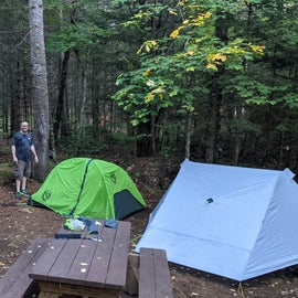 tent site # 22