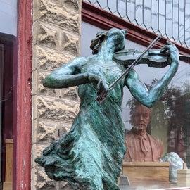 Sculpture in town
