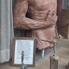 sculpture in Braxton