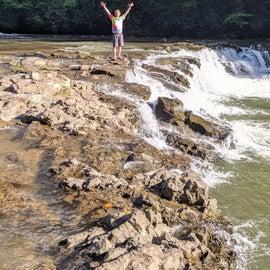 Whitaker Falls.