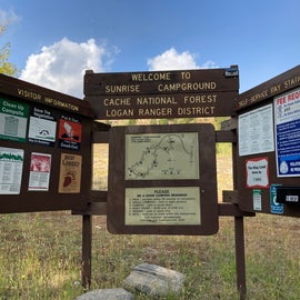 Signage for campground