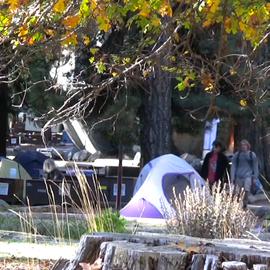Camp 4 in Yosemite