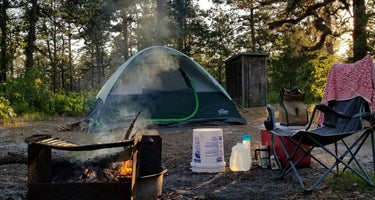 Wharton State Forest Lower Forge Campground