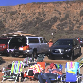 Parking at Old Man's San Onofre State Beach