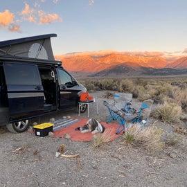 Campsites are reasonably flat.