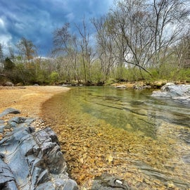 12 Mile Creek access on property, spring fed and crystal clear water!!