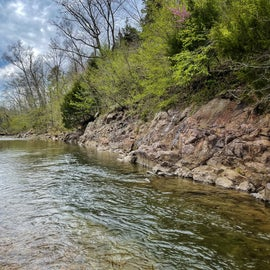 12 Mile Creek access on Property, Spring Fed and crystal clear