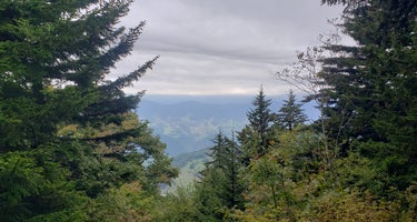 Spruce Knob and Spruce Knob Observation Tower