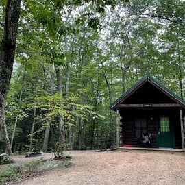 Pawtuckaway has a few cabins for rent