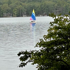 Sailing on Pawtuckaway Pond