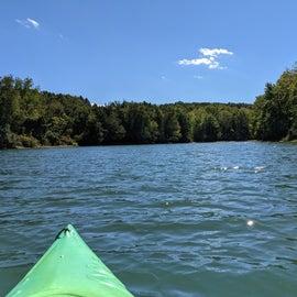 Lovely Lake for Paddling