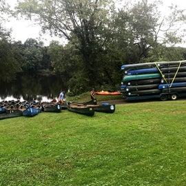 Boat Ramp near office.