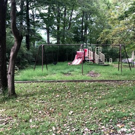 Playground in Primitive Section (could use a little TLC)
