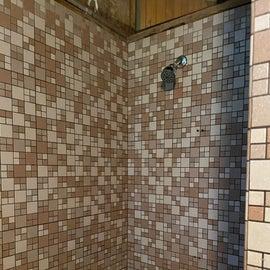 Shower at Pawtuckaway Big Island