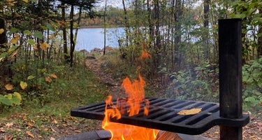 Superior National Forest Fall Lake Campground