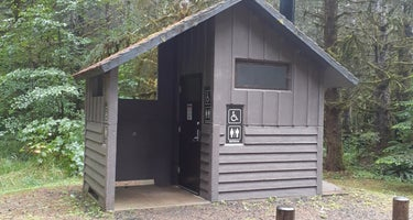 Clatsop State Forest Northrup Creek Horse Campground