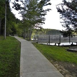 Trail beside the Lake