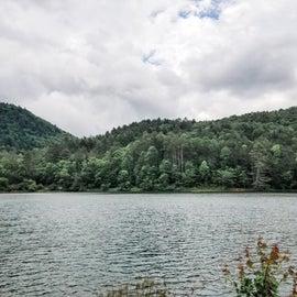 The lake at Black Rock.