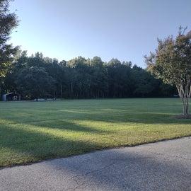 The open field across the street.