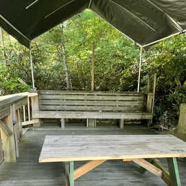 covered deck @ site #2