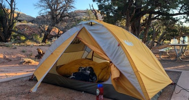 The Needles Squaw Flat Campground - Canyonlands National Park