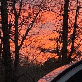 sunset at 73