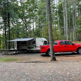 full campsite utilities